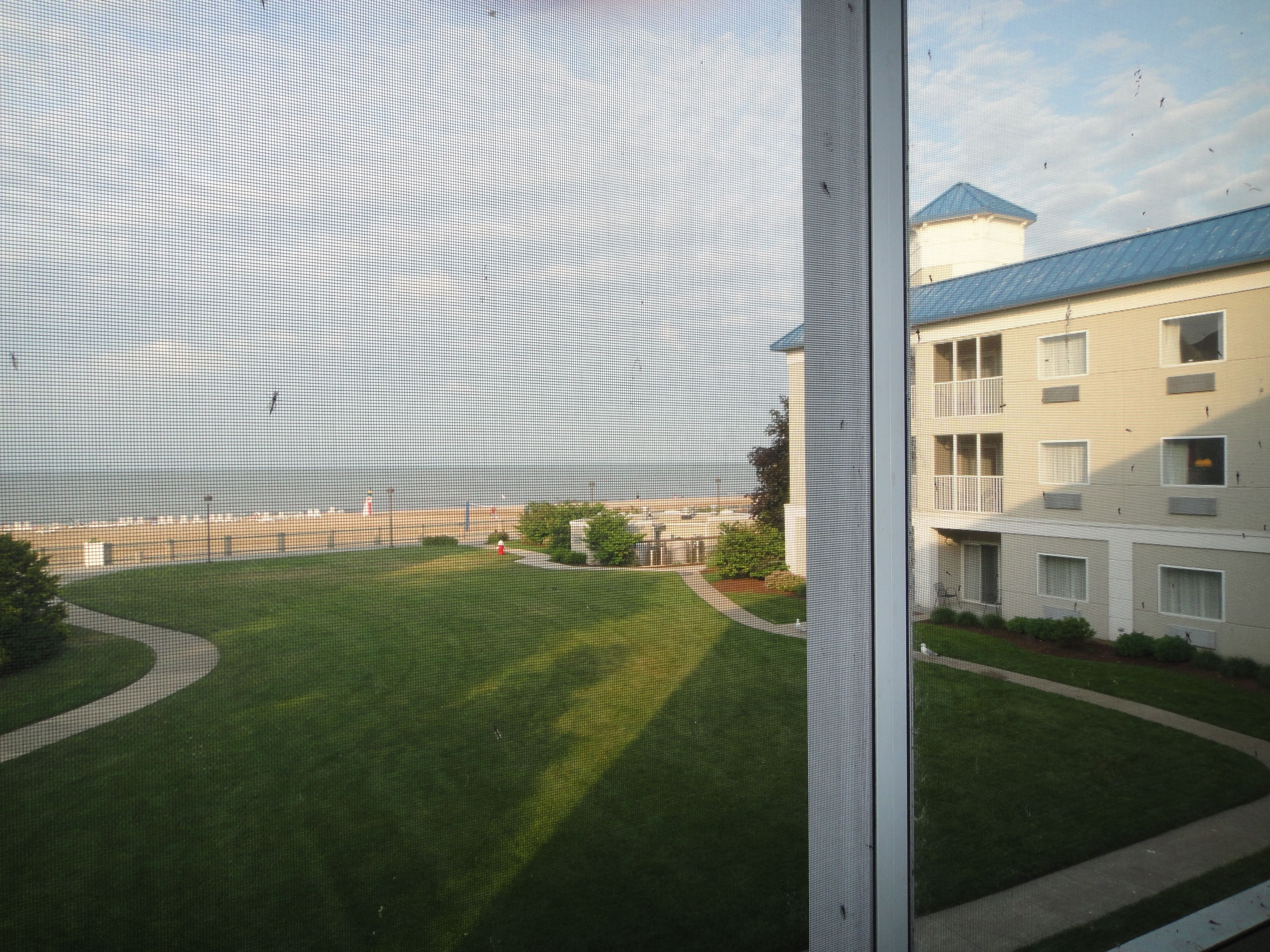Hotel Breakers Cedar Point view from lakeview suite