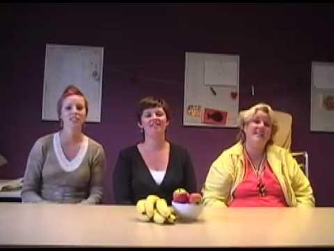 ▶ Appel, peertje en banaan - YouTube