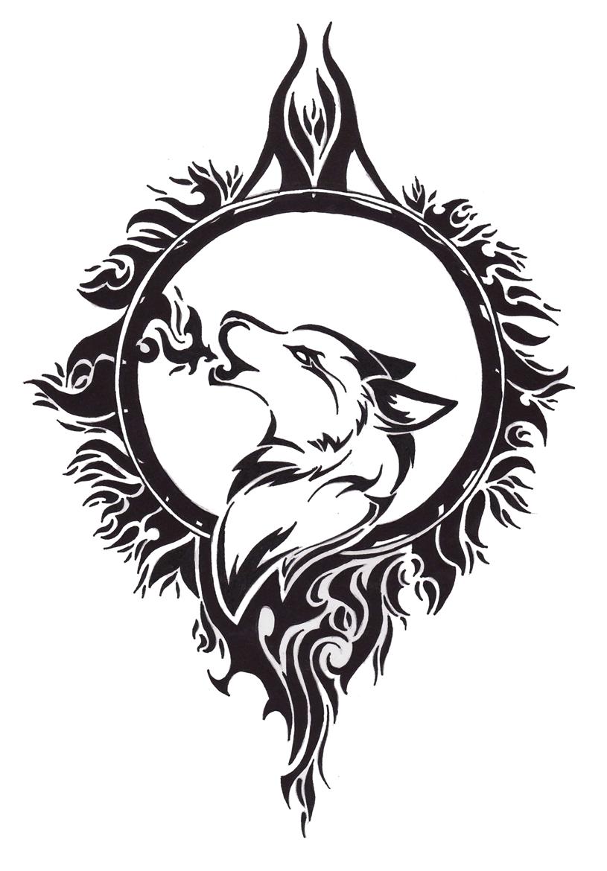 Tattoo Designs Wolf Tattoo Design By Angel Of Mist Designs Interfaces Tattoo Design Tribal Wolf Tattoo Celtic Wolf Tattoo Wolf And Moon Tattoo