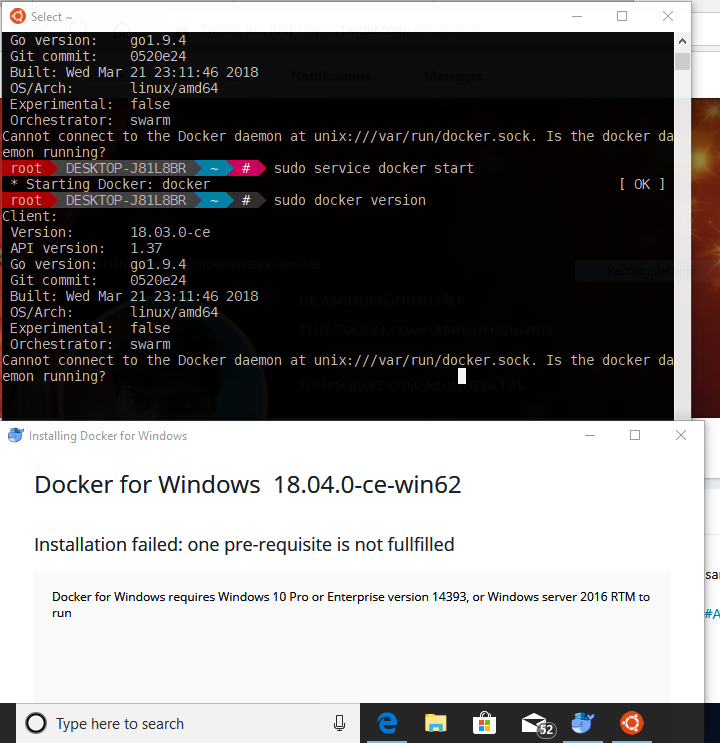 How To Run Docker On Windows 10 Consider Real Bash Dockers Cloud Computing Windows