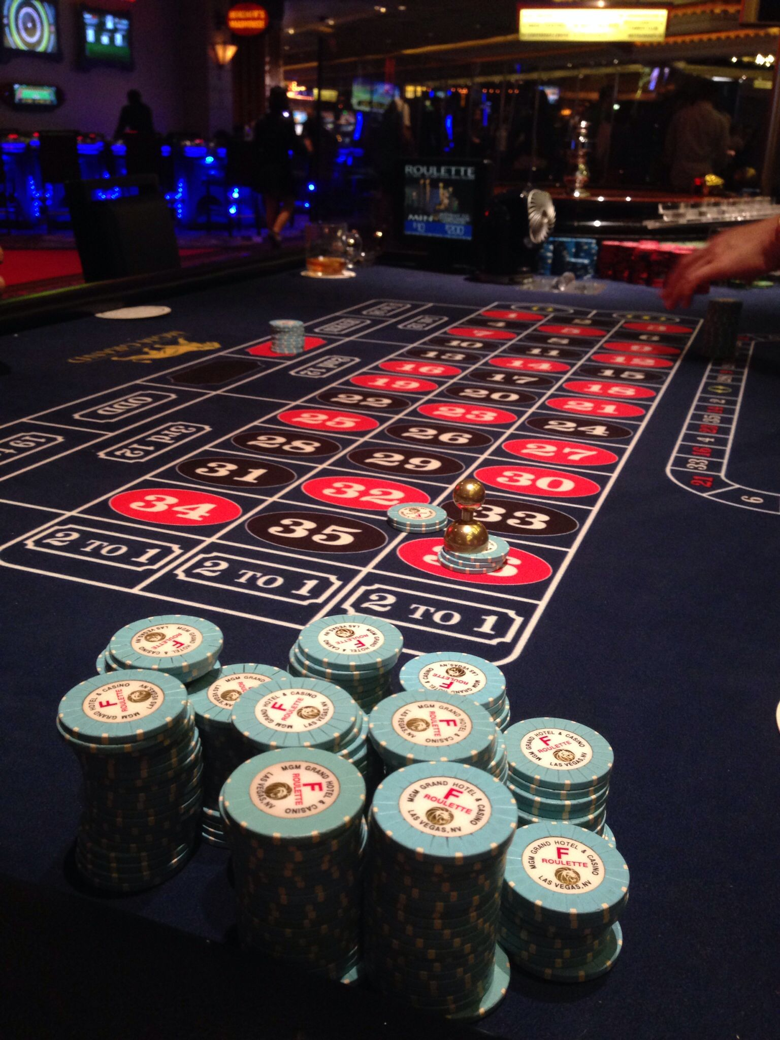 Hit lucky 36 at the roulette tables vegas gaming
