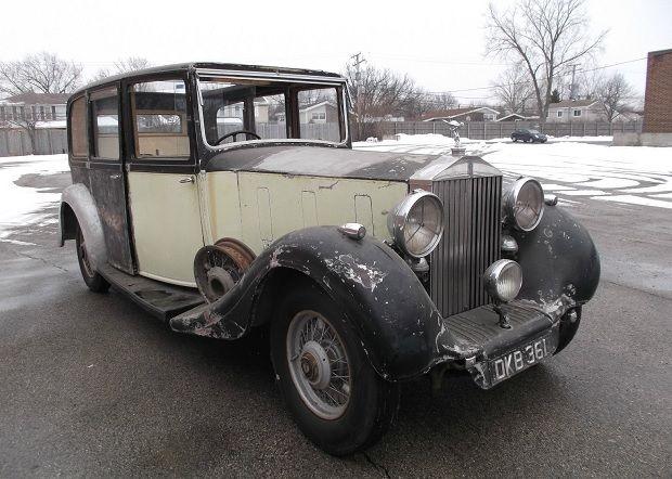 1937 Rolls Royce Phantom III Project