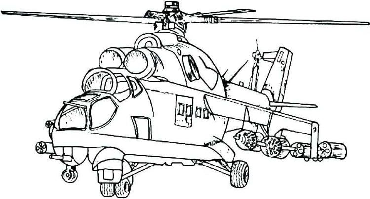Army Helicopter Coloring Pages Airplane Coloring Pages Truck