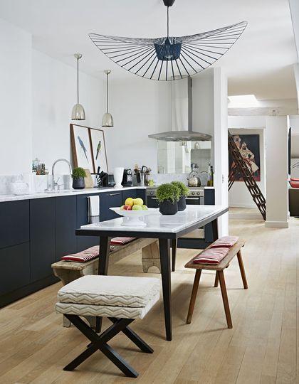 Cuisine moderne et pratique  20 bonnes idées Kitchens, Salons and