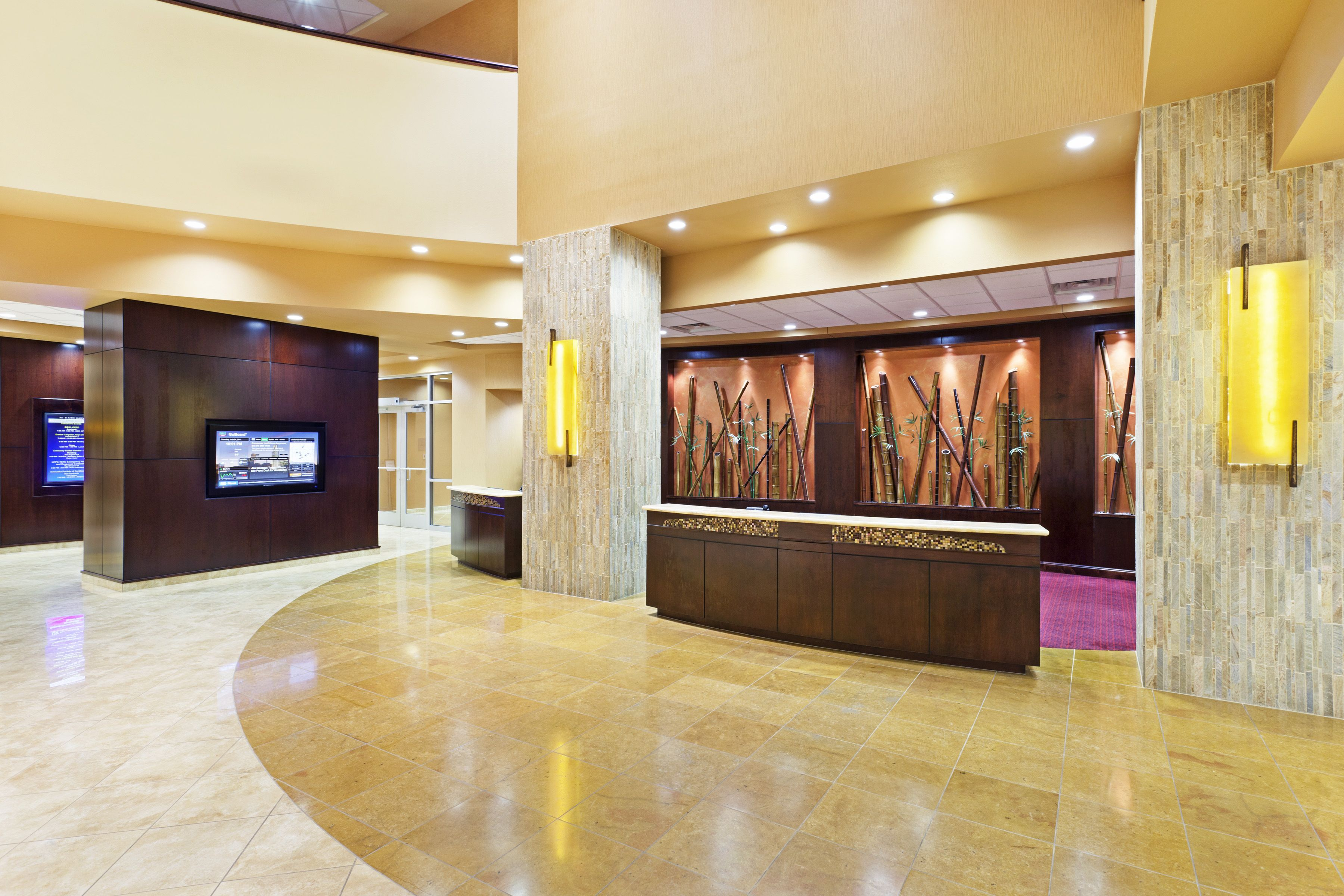 Our Open Lobby At The Courtyard By Marriott La Vista Features A