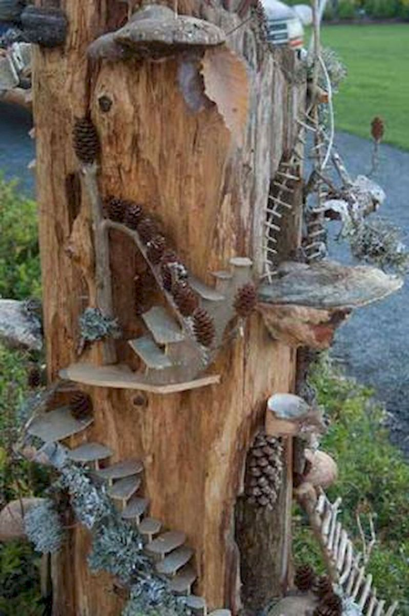 tree stump fairy house for sale