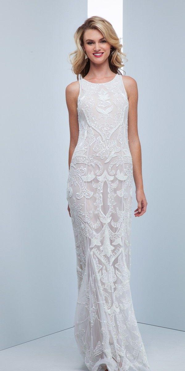 Mignon Vm36001 White Evening Dress 498 00