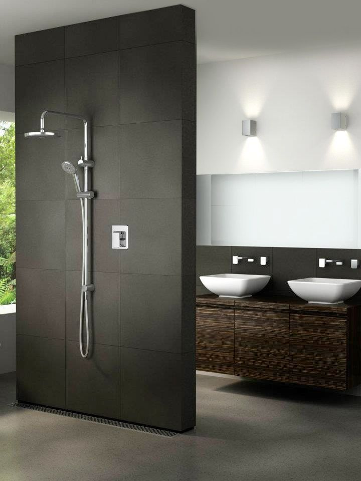 Very Nice Dark Accents Http Walkinshowers Org Best Shower Systems Buying Guide Html Modern Bathroom Modern Bathroom Design Bathroom Design