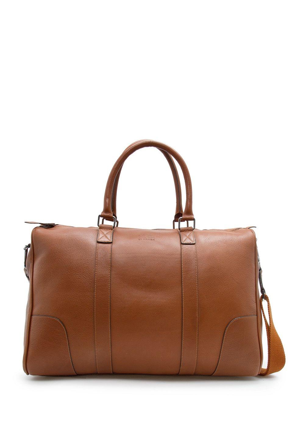 sac week end cuir cuir sacs et accessoires. Black Bedroom Furniture Sets. Home Design Ideas