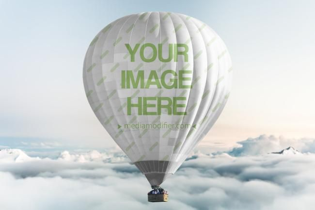 What S Up Is It A Branded Hot Air Balloon With Your Logo On It Creating A Hot Air Balloon Mockup Has Never Hot Air Balloon Design Air Balloon Hot Air Balloon