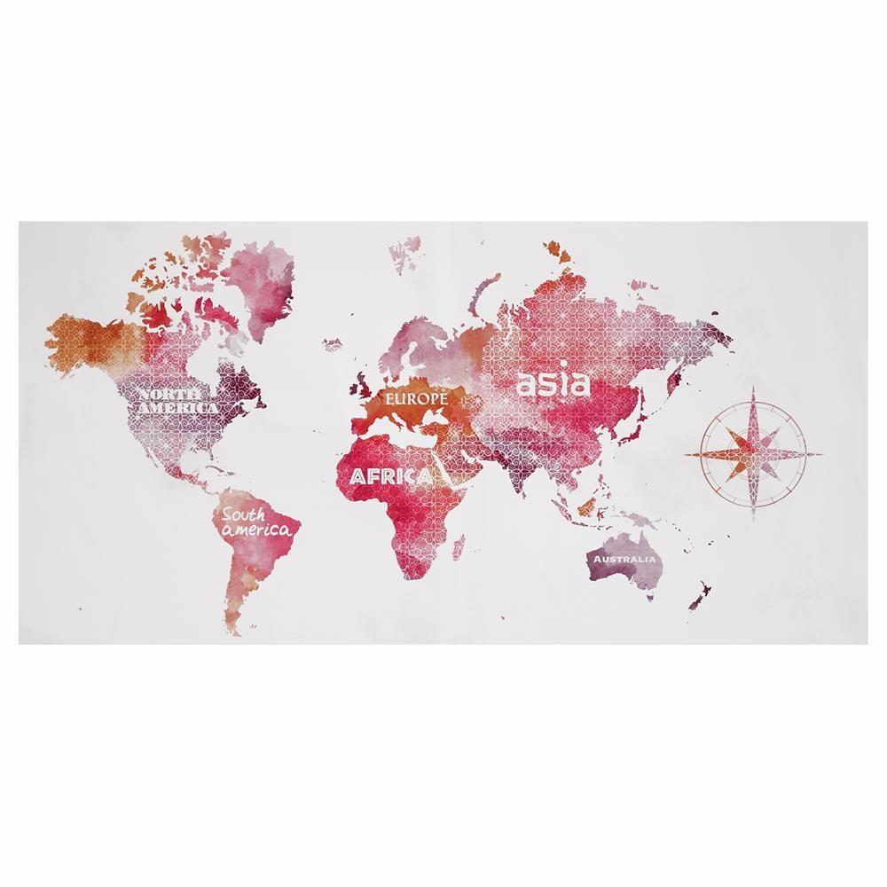 tableau carte du monde tableaux d cor mural enfants college ideas in 2019. Black Bedroom Furniture Sets. Home Design Ideas