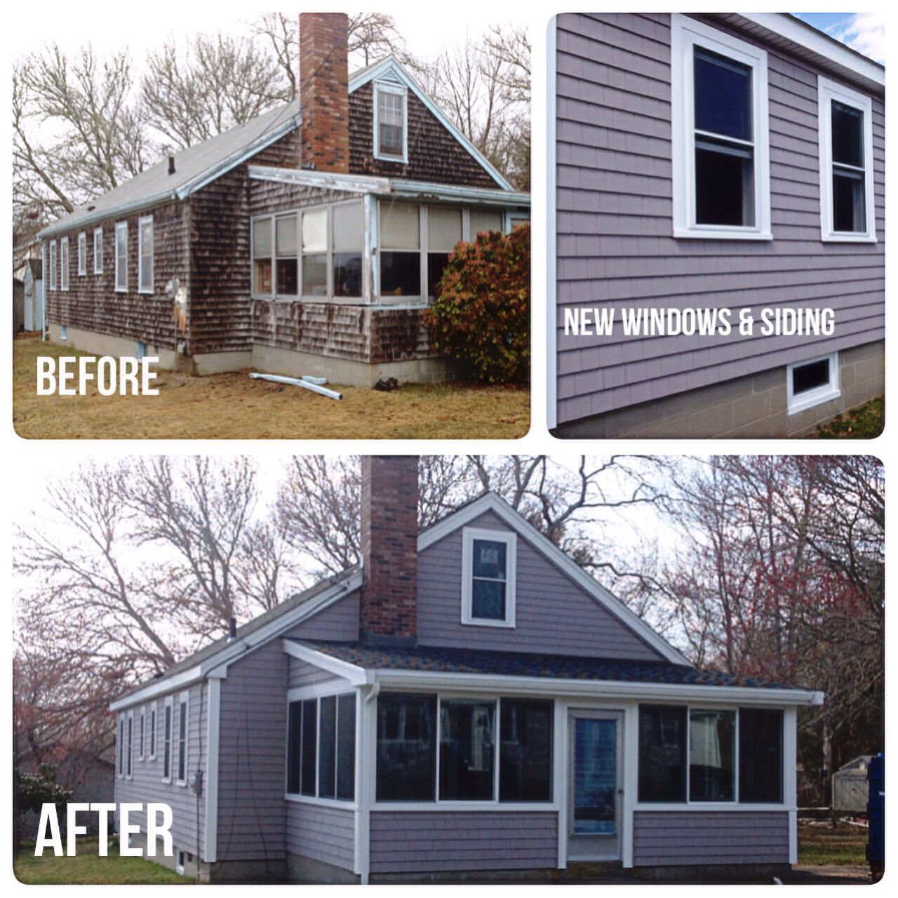 delightful harvey siding colors #5: Newly renovated beach home using @CertainTeed Corporation Cedar Impression  Siding in Granite Gray and @