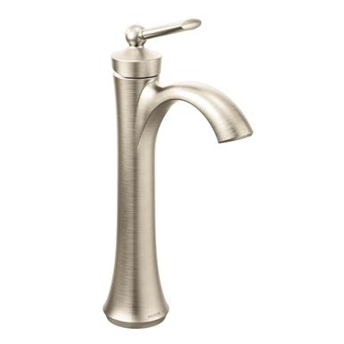Moen Wynford Single Hole Bathroom Faucet Brushed Nickel