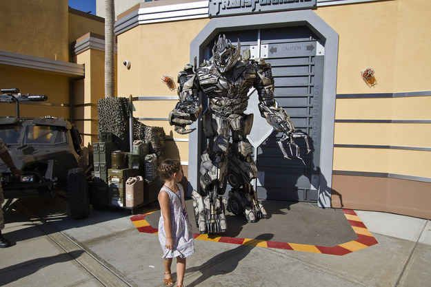 Kids of all ages will delight in meeting Bumblebee, Optimus Prime, and Megatron.