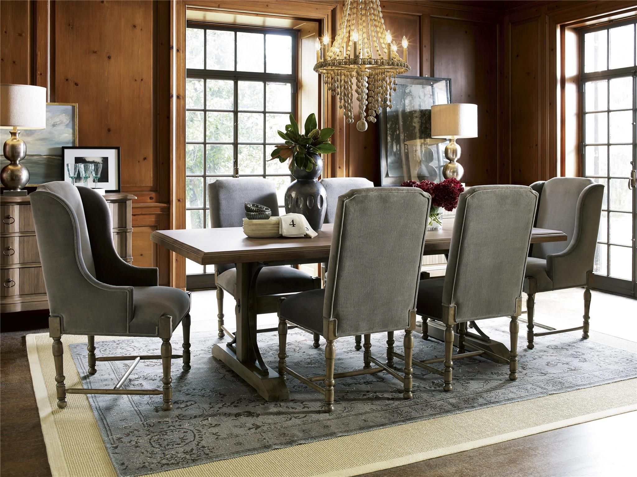 Universal Furniture  Authenticity  Oxford Street Table  Skinner Cool Universal Furniture Dining Room Set Inspiration Design