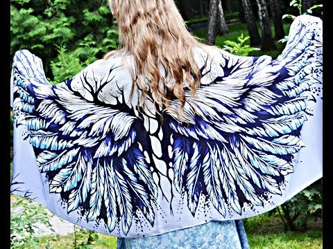 Angel Wings Shawls - YouTube