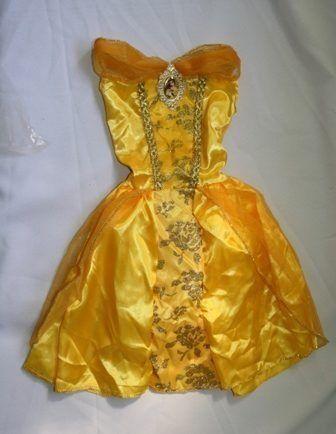 eed75c48d5 Fantasia Bela Da Fera Tamanho M 6 A 8 Anos Infantil | princesa belle ...