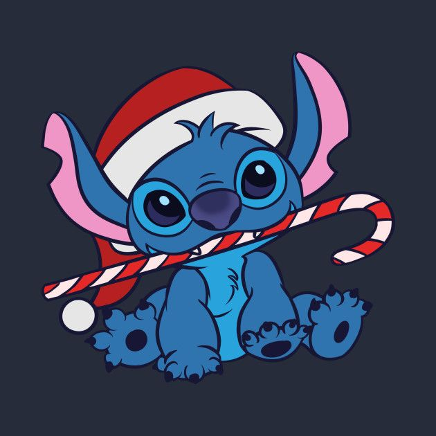 Awesome Christmas Stitch Design On Teepublic Stitch Disney Stitch Drawing Wallpaper Iphone Christmas