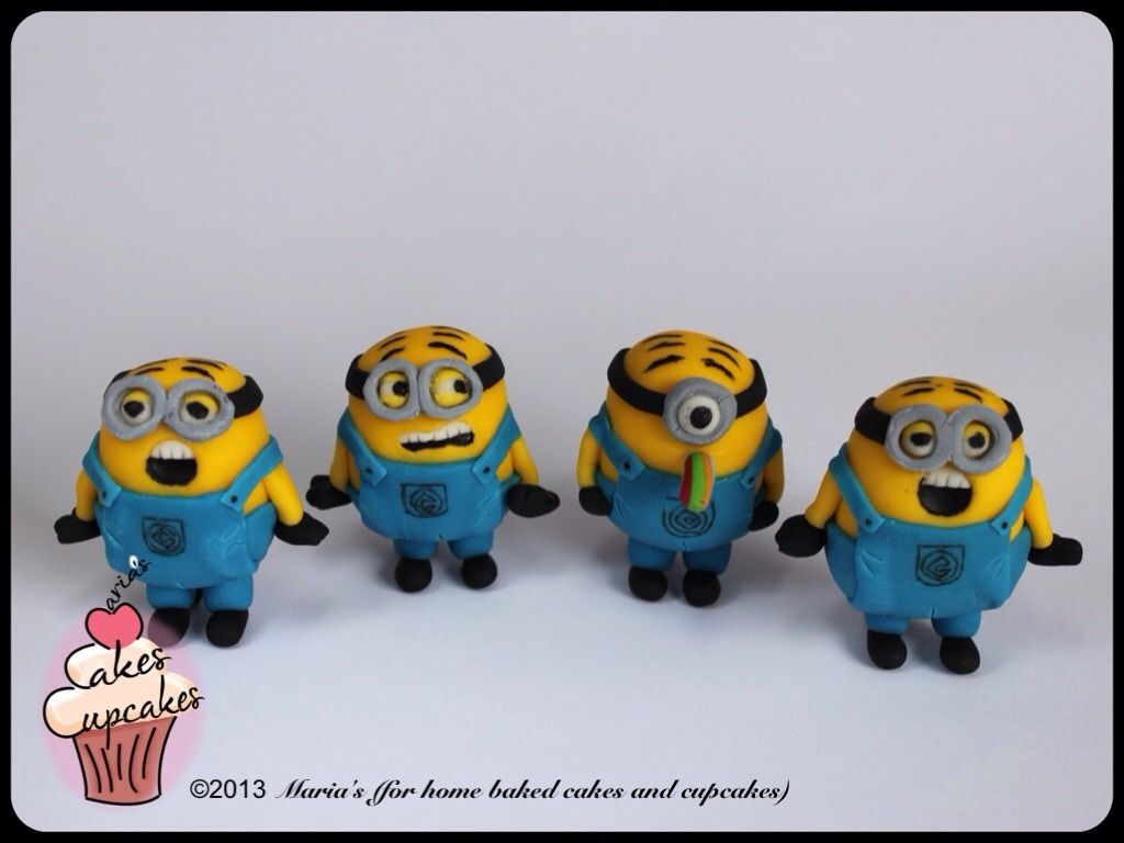 3D Figures Bababababanana The Minions inspired from the movie