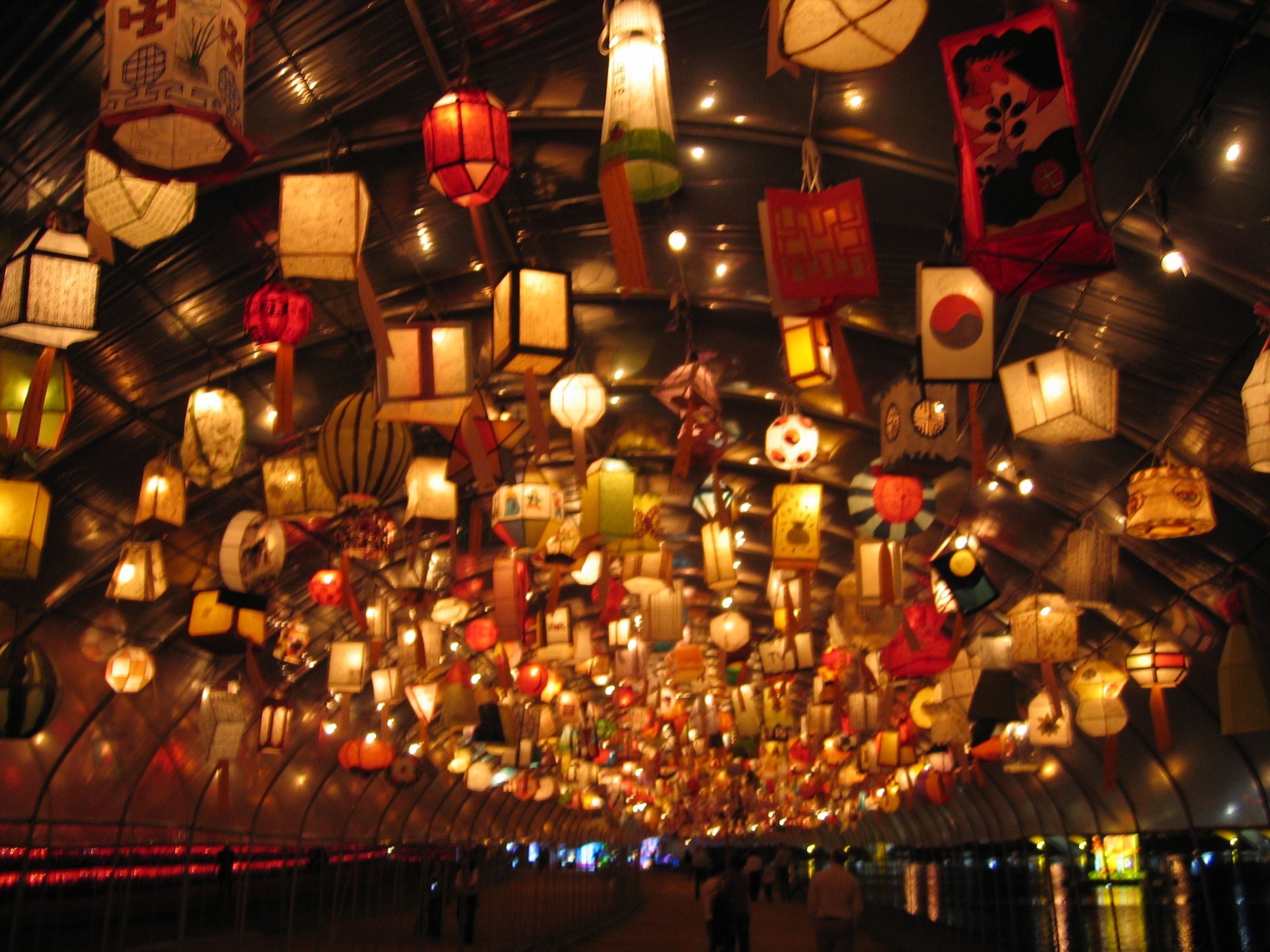 Paper lanterns wedding decoration ideas  Lots of Lanterns  Beauty  Pinterest  Ceiling and Lights