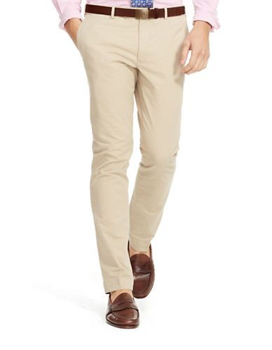 Ralph Beige Lauren 38x30 Chino Fit Pants Polo Slim Stretch Men's vnwN80Om