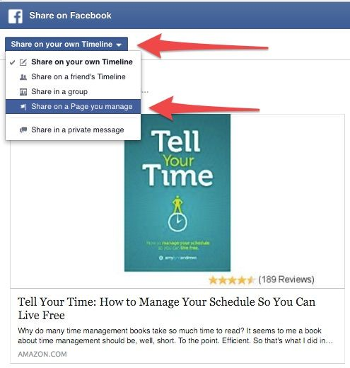 How To Share Amazon Affiliate Links On Facebook And Twitter Money Today Affiliate Programs Told You So