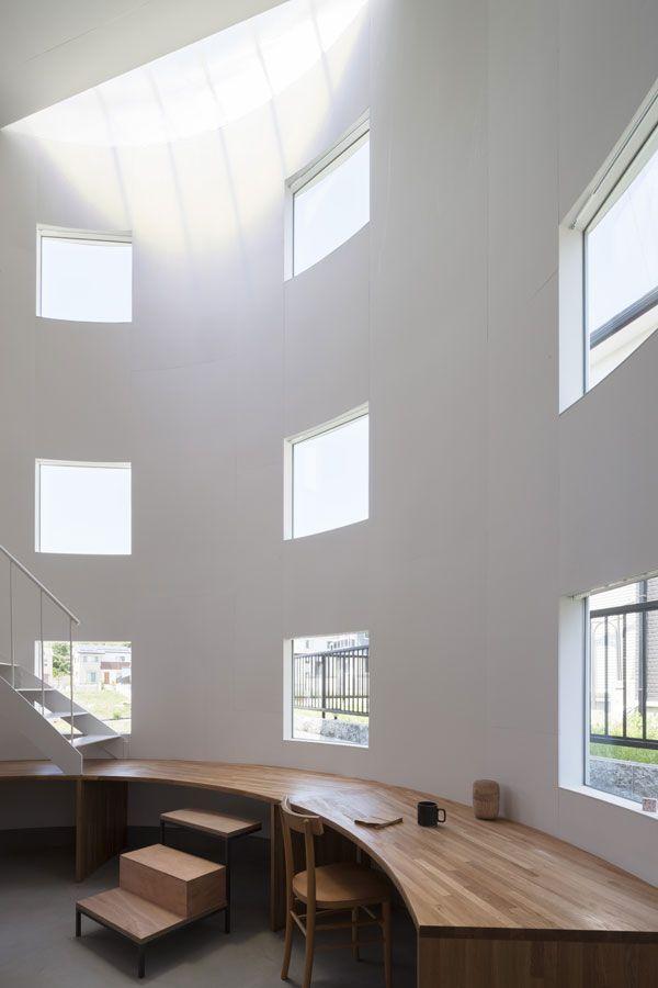 彦根の住居 Tato Architects タトアーキテクツ 島田陽建築設計事務所 インテリアアーキテクチャ 住宅建築デザイン 家のデザイン