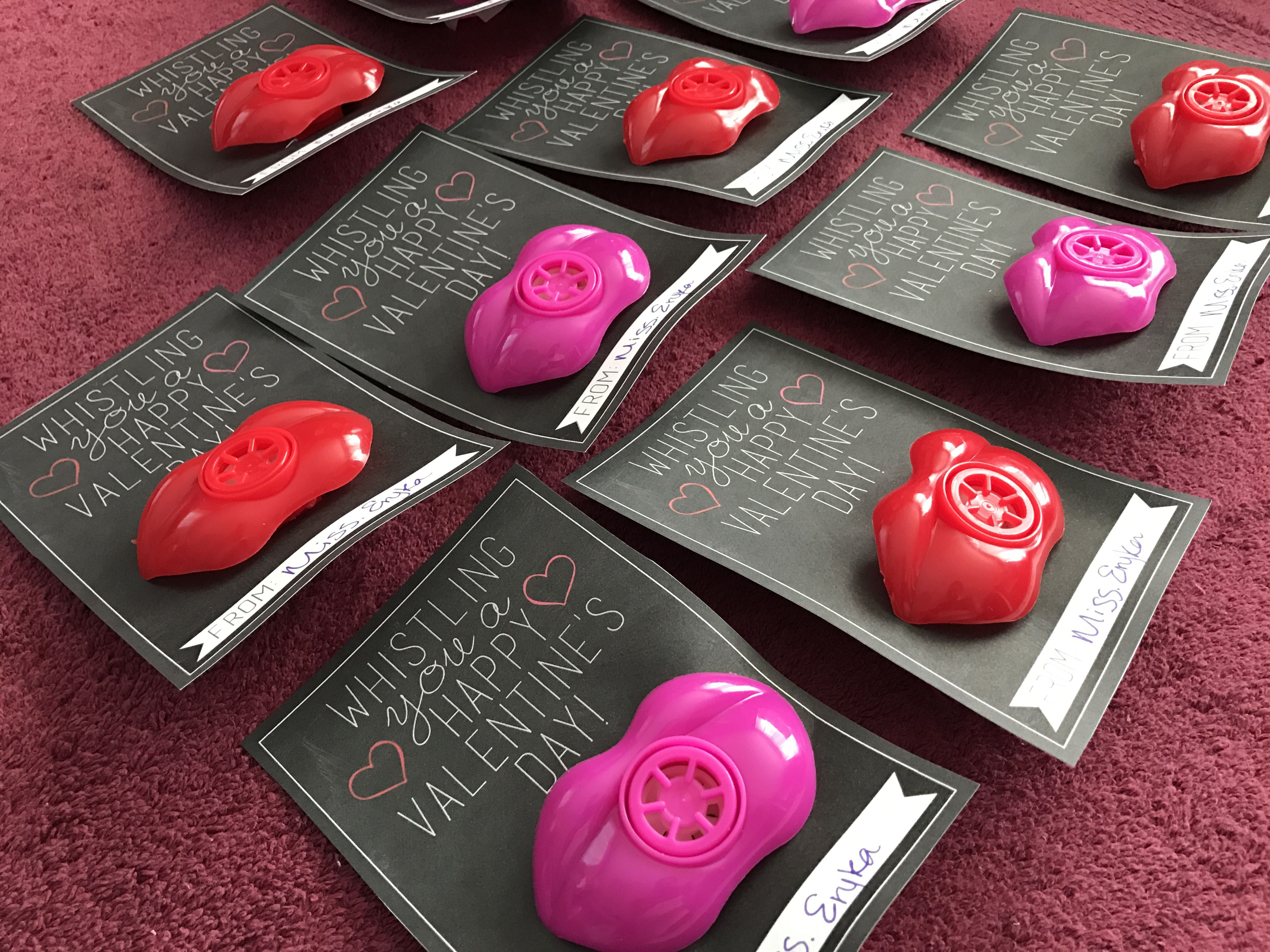 Lip whistle no candy Valentines. (With images ...