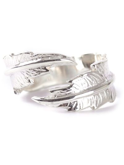 Wrap feather ring