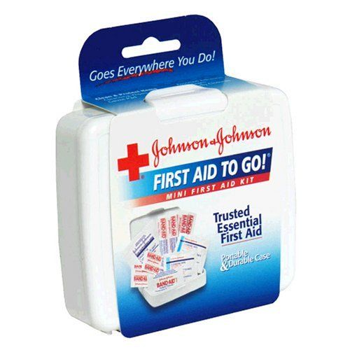 Robot Check Mini First Aid Kit Johnson And Johnson First Aid Kit
