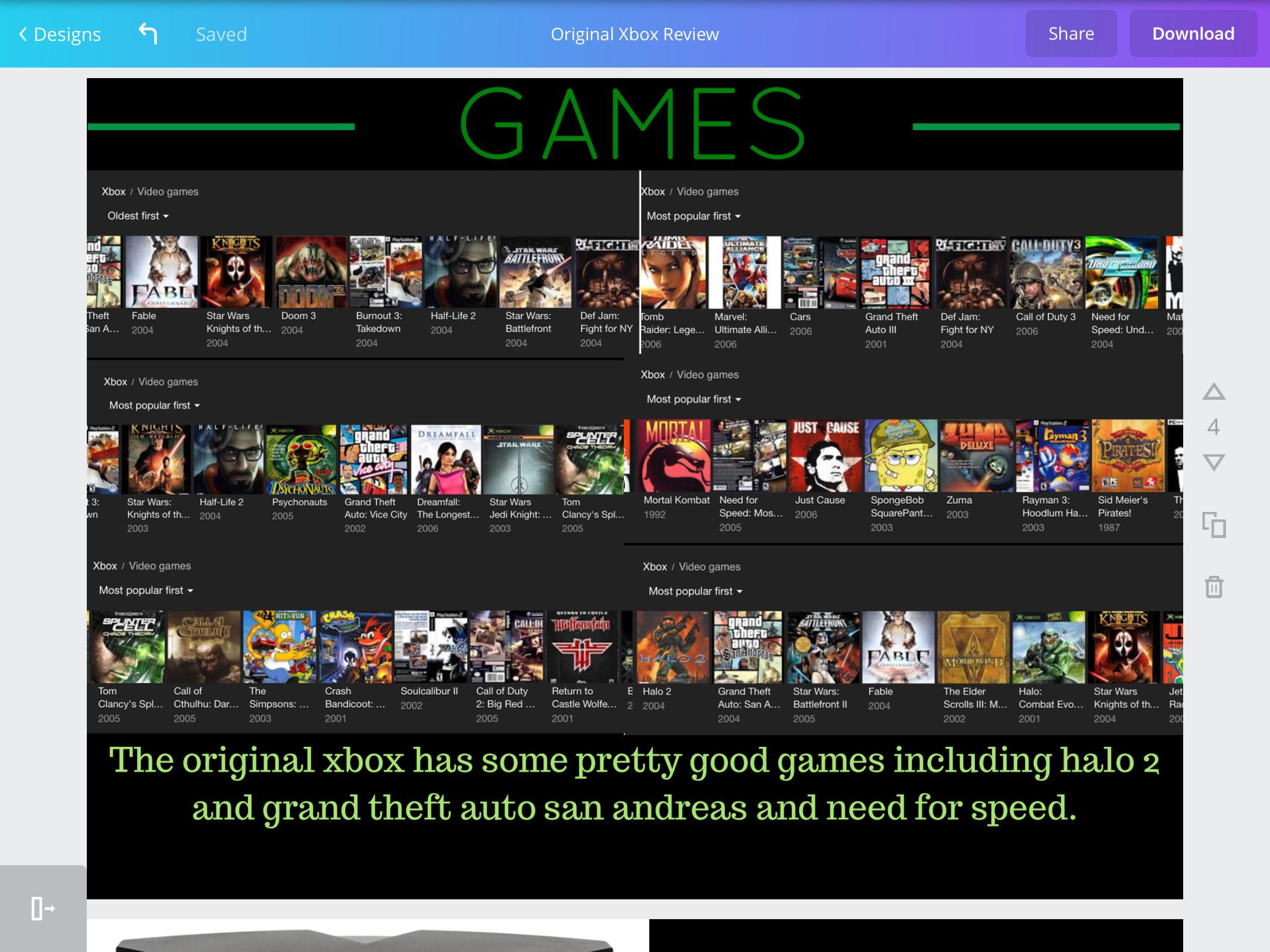 Original Xbox Games Original xbox, Xbox games, The originals