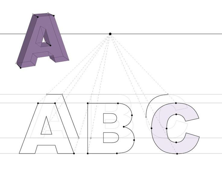 1 pt perspective names in illustrator - Google Search ...