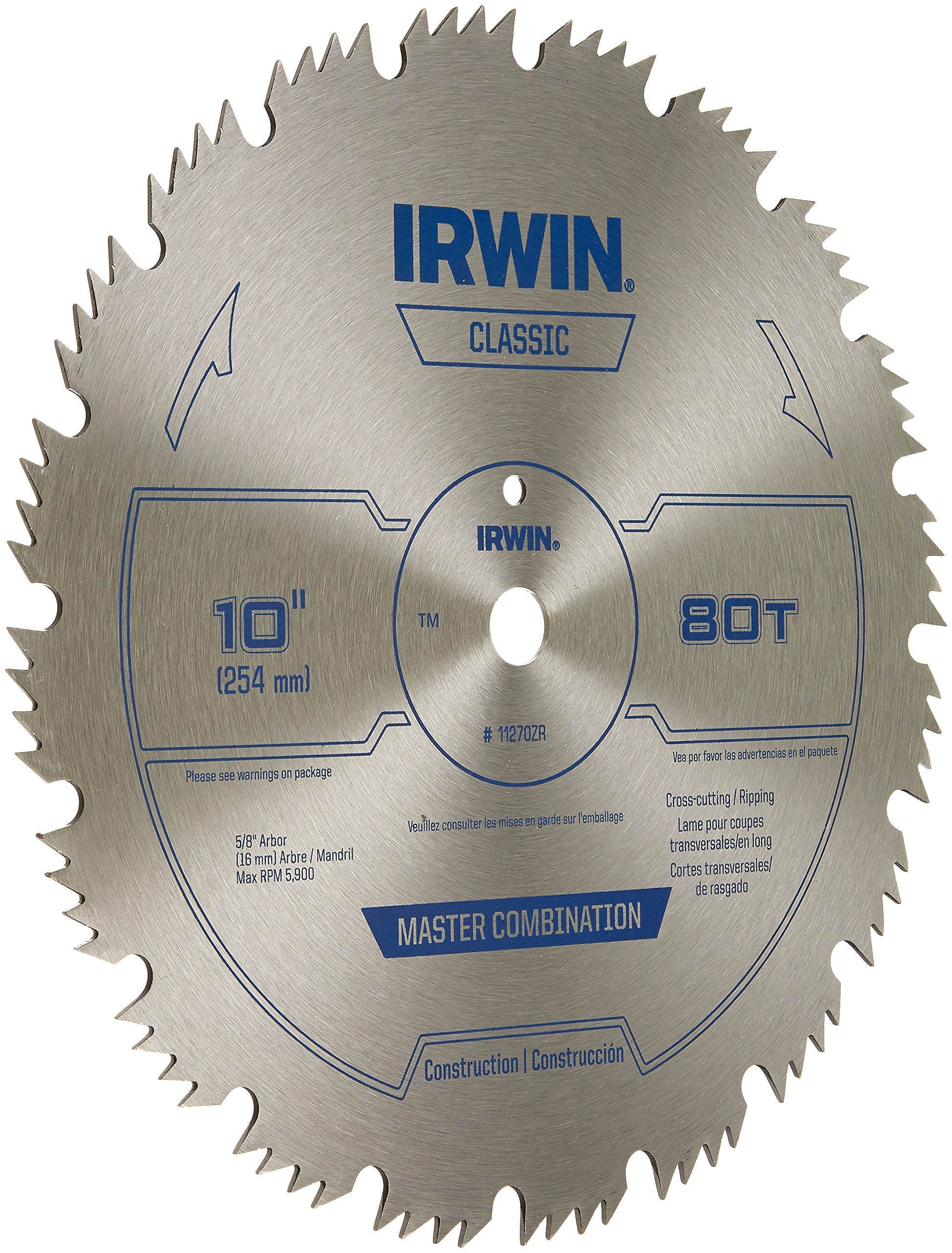 Irwin Tools Steel Table Miter Circular Saw Blade 10inch 80 Tooth 11270zr Want Extra Information Click On The Im Circular Saw Blades Steel Table Tool Steel