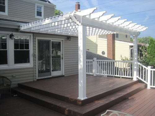 Tuscany Attached 12 X 14 Attached Pergola Kit Garbrella Pergolas Shop Pergolas