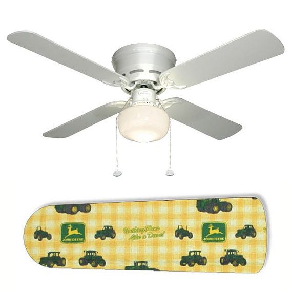 Ceiling Fan With Lamp Classic John Deere By Coolfans4u On 65 00