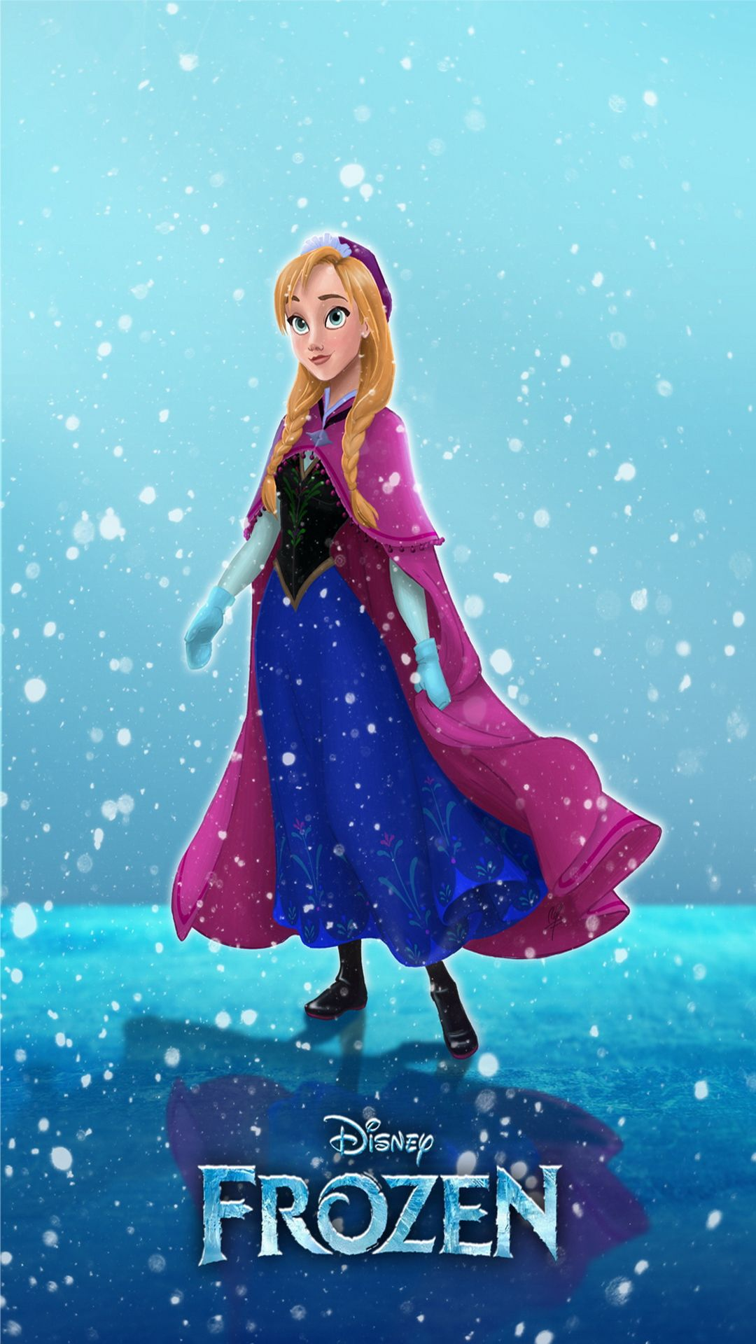 frozen mobile phone wallpaper 1080x1920 hd 2 | frozen mobile