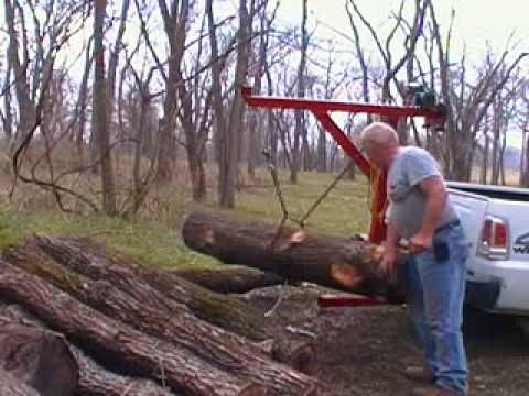 Homemade Wood Lift For Utility Trailer Youtube Log