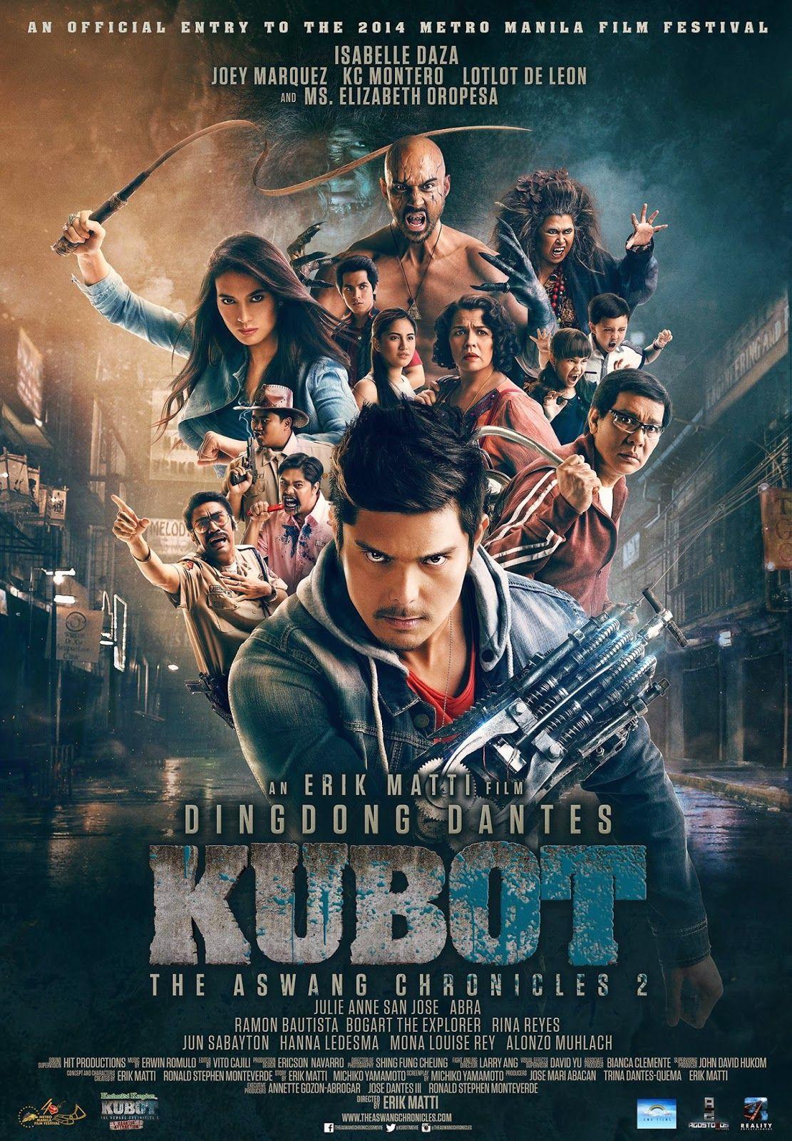 Kubot the aswang chronicles 2 is a 2014 filipino action