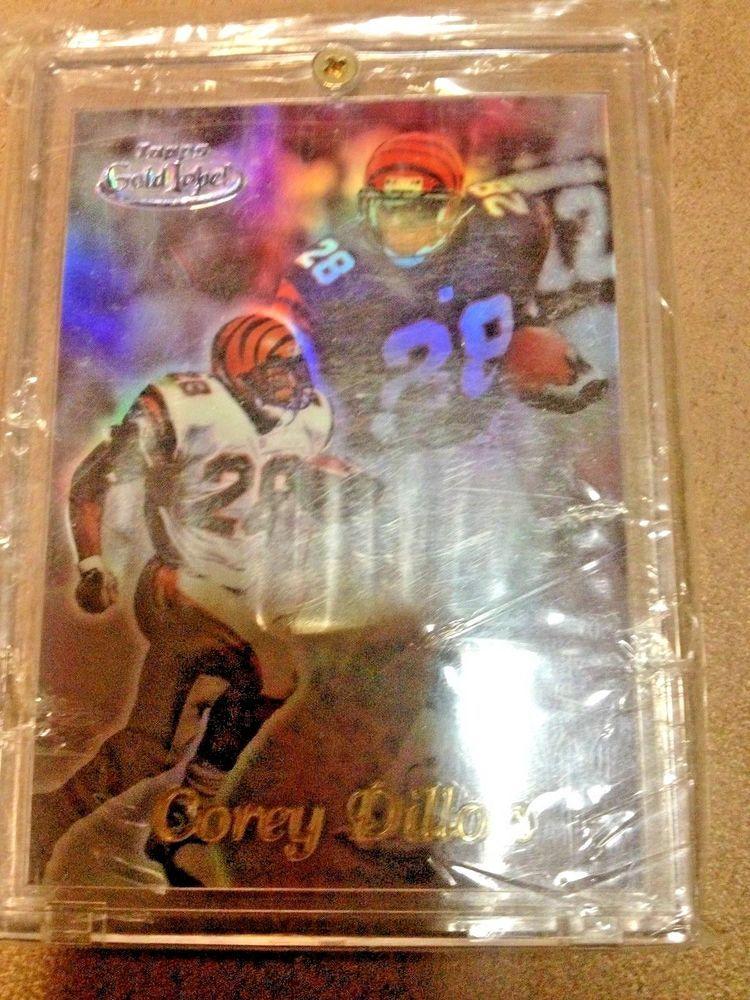 1999 topps gold label 31 corey dillon super rare 11