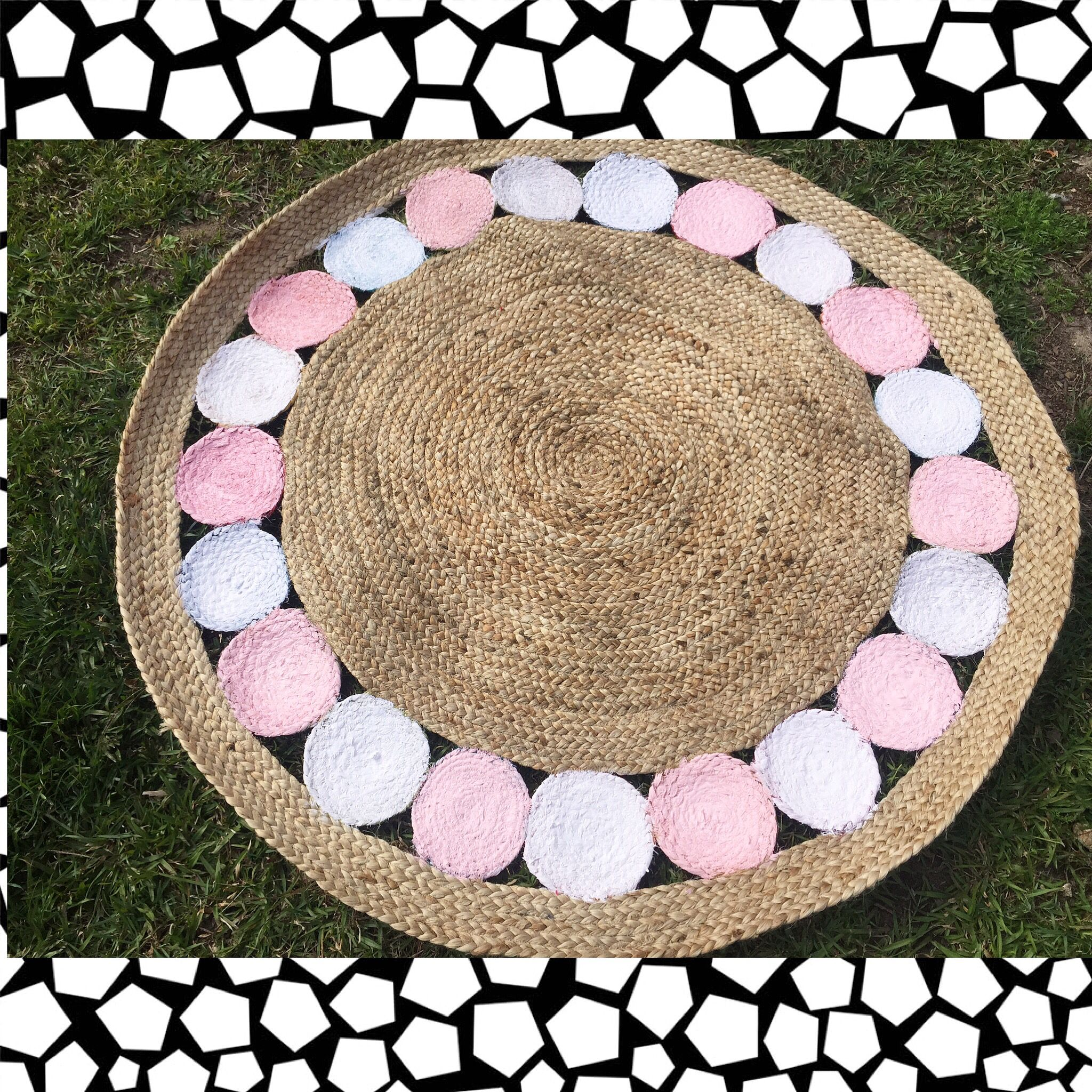 kmarthack on kmart jute circle rug | decor | pinterest | circles