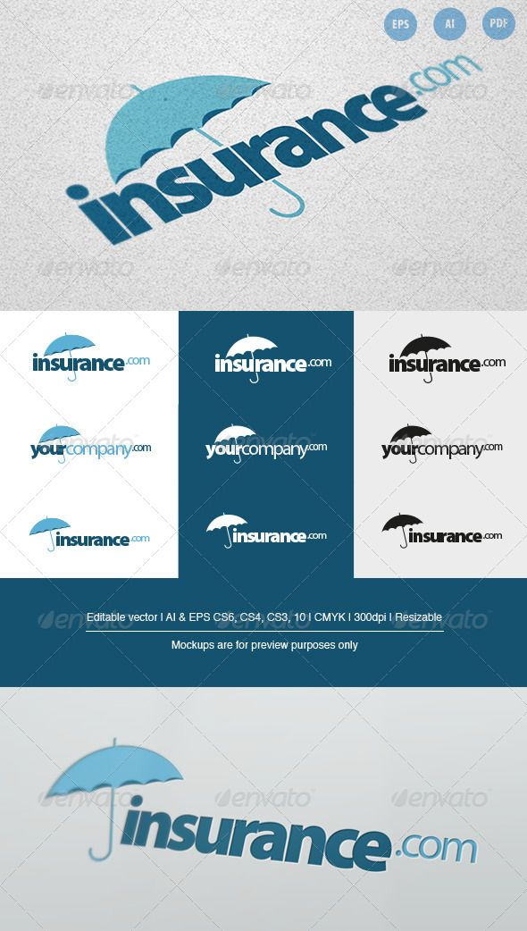 Insurance Company Logo Company Logo Business Logo Design