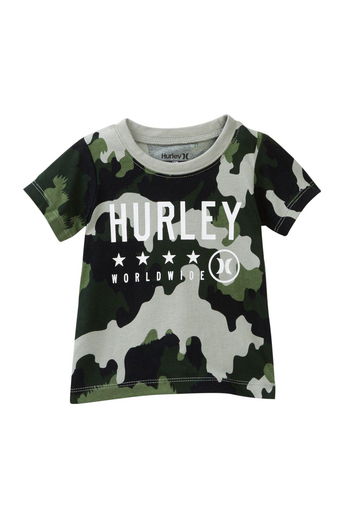 265aea9e6 Camo Hurley Tee (Baby Boys)   Products   Boys, Hurley, Mens tops