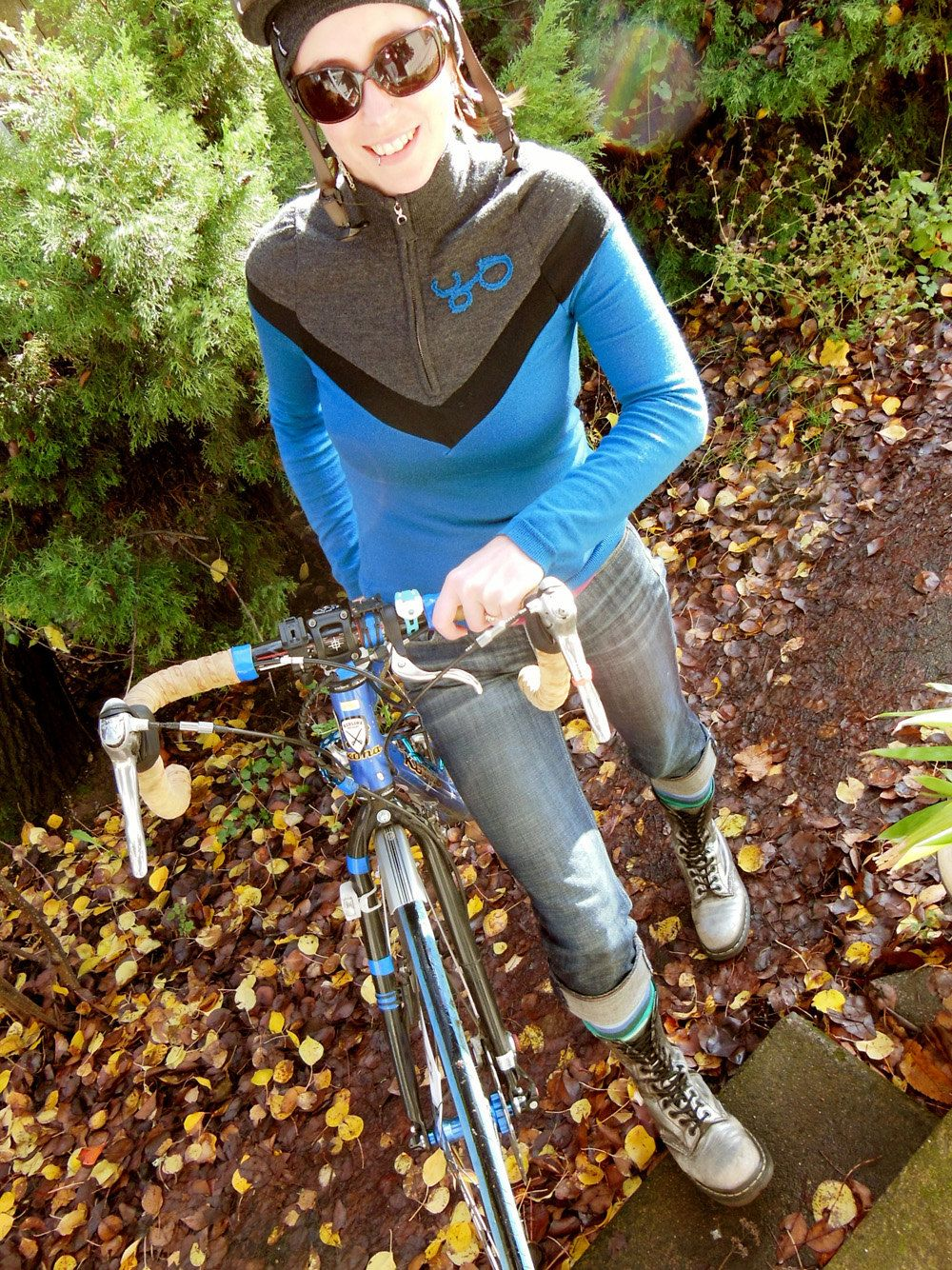 Cycling shirt design your own - Design Your Own Womens Chevron Long Sleeve Merino Wool Jersey 135 00