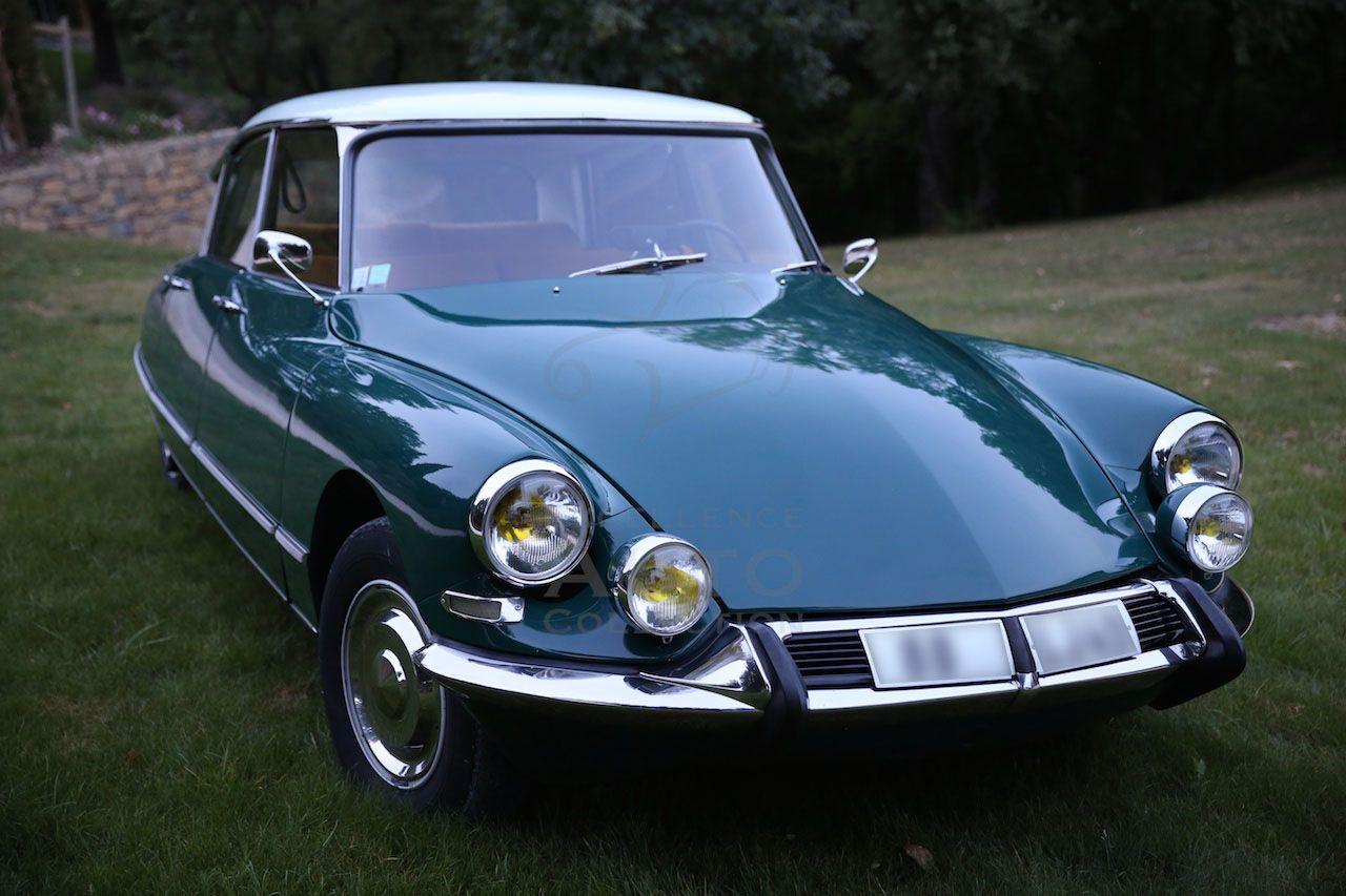 Citroen Ds21 Pallas Vert Hedera 1966