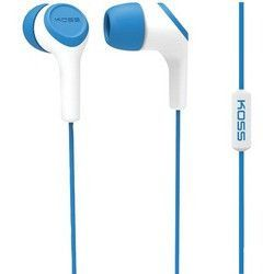 Koss Keb15i In-ear Earbuds With Microphone (blue) (pack of 1 Ea)