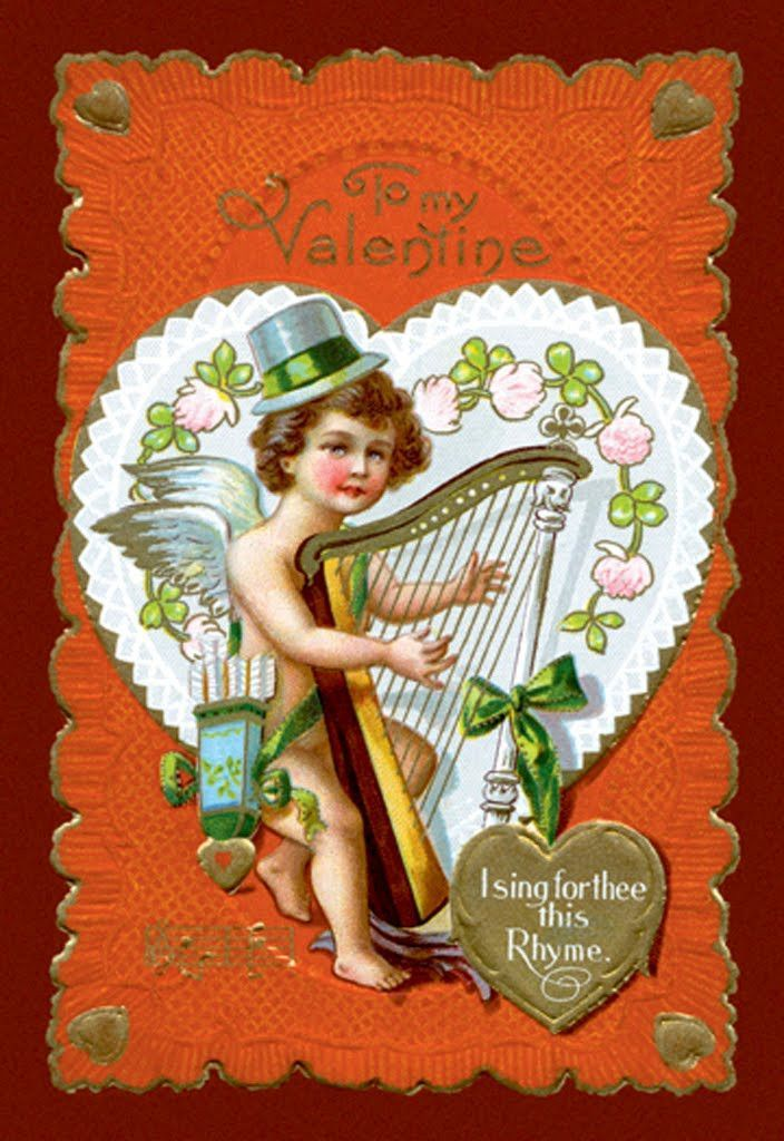 To My Valentine - I Sing For Thee This Rhyme