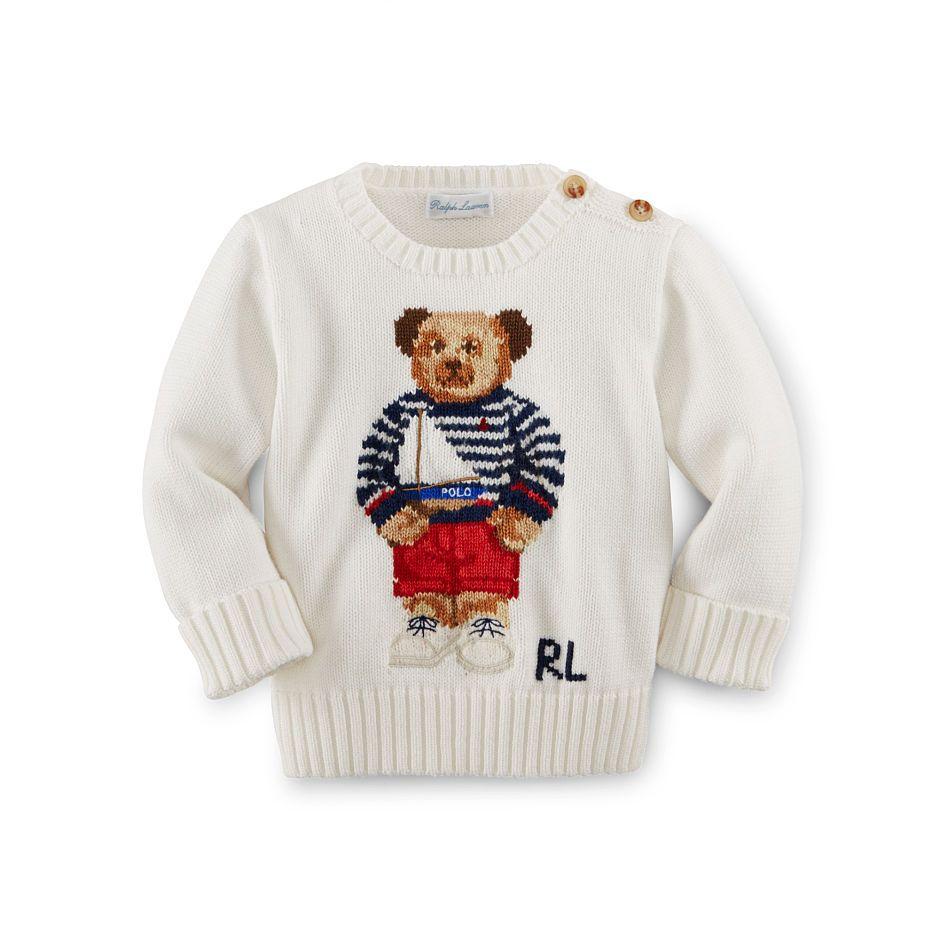 0b2bef4ba Polo Bear Cotton Sweater