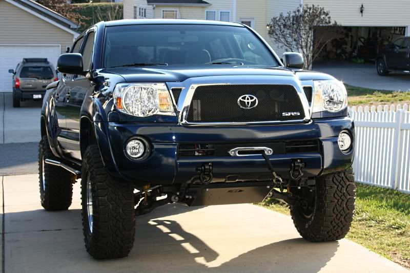 Tacoma Lower Grill Light Bar
