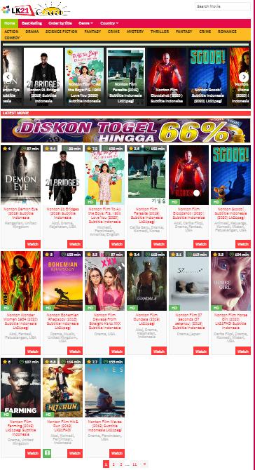 Lk21pagi merupakan situs nonton film gratis secara online
