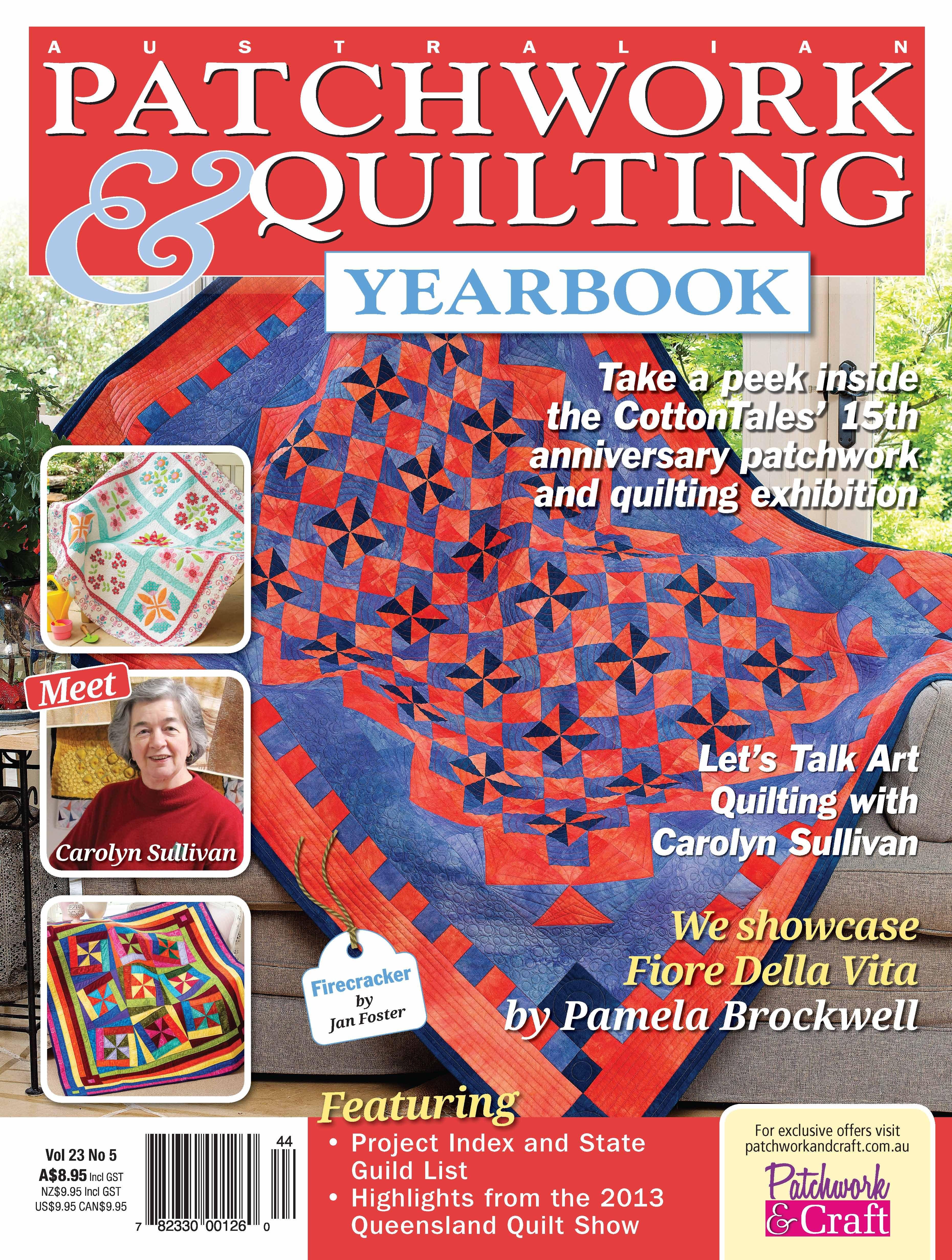 Australian Patchwork & Quilting - Volume 23 No.5. Australia's top ... : australian quilt magazines - Adamdwight.com